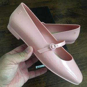 Melissa shoes believe flats pink